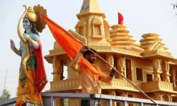 અયોધ્યામાં નવરાત્રીના પહેલા દિવસે બૂલેટપ્રૂફ મંદિરમાં બીરાજશે રામલલા