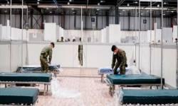 લંડનએ તોડ્યો ચીનનો રેકૉર્ડ, 10 દિવસમાં બનાવી 4000બેડની હૉસ્પિટલ