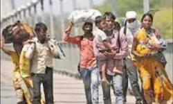 પ્રવાસી મજૂરો પર કોંગ્રેસ-ભાજપાનું રાજકારણ : યુપી-રાજસ્થાન બોર્ડર પર કોંગ્રેસે મોકલી પ૦૦ બસો