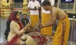 UAEની રાજકુમારી હિન્દ અલ કાસીમીએ મંદિરમાં પૂજા કરી : કટ્ટરપંથી મુસ્લિમો ખફા થતાં જડબાતોડ જવાબ આપી મોઢા બંધ કરાવી દીધા