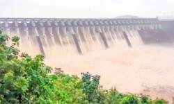 ઉપરવાસમાં ભારે વરસાદને કારણે ઉકાઈમાંથી પાંચ હજાર ક્યૂસેક પાણી છોડવાનું શરૂ