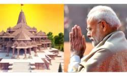 જયશ્રી રામ, નવા યુગનો સૂર્યોદય: માત્ર અયોધ્યા જ નહી, પૂરો દેશ ૨ામમય : મંદિ૨ોમાં શણગા૨, મહાઆ૨તી