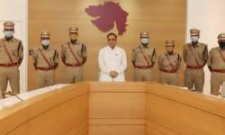 ગુજરાતને ફાળવાયેલા 7 તાલીમી IPS અધિકારીઓ મુખ્યમંત્રીની મુલાકાતે