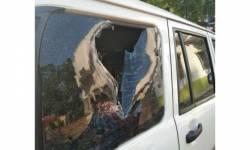 બંગાળમાં ભાજપના નેતાની કાર પર બોંબ ફેંકાયા