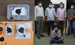 ગાંધીનગર SOG એ MD ડ્રગ્સ સાથે ઝડપ્યો એક આરોપી, 7.47 લાખનો માલ કબજે