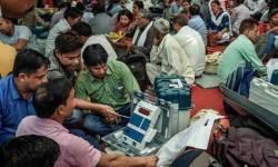 બિહારમાં મહાગઠબંધન, મધ્ય પ્રદેશ અને ગુજરાતમાં ભાજપ આગળ