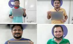 રાજકોટ : ચાર ઈન્કમટેક્સ કર્મચારી દારૂની મહેફિલ માણતા પકડાયા