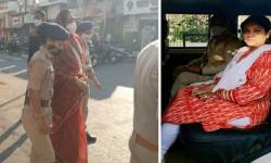 ભારત બંધ : વડોદરામાં કોંગ્રેસનું પ્રદર્શન, નેશનલ હાઈવે અને ભરૂચ-દહેજ હાઈવે પર સળગાવાયા ટાયરો