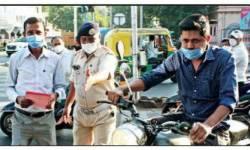 6 મહિનામાં ગુજરાતના 22 લાખ લોકોએ માસ્ક-થુંકવાનો રૂા.100 કરોડ દંડ ભર્યો