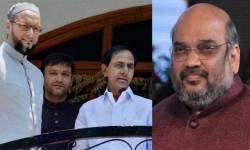 BJPની 'સ્ટ્રાઇક'થી હૈદરાબાદ કોર્પોરેશનનું ગણિત બદલાયું, જાણો હશે શું થશે
