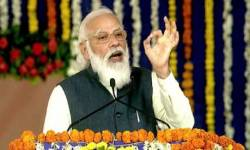કચ્છમાં PM મોદીએ કહ્યું- દિલ્હીમાં આજકાલ ખેડૂતોને ડરાવવાનું કાવતરૂં રચાઇ રહ્યું છે, સરકાર કરશે શંકાનું સમાધાન
