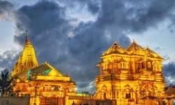 સોમનાથ મંદિર સુવર્ણ કળશોથી ઝળહળી ઊઠ્યું