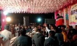 કોરોનાનો ડાયરો : ભીડ ભેગી કરી અને 10 કલાકારોને બોલાવી ડાયરો કરાયો