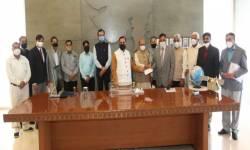 સરકારે બાર કાઉન્સીલ ઓફ ગુજરાતને રૂ. પ કરોડનો ચેક કર્યો અર્પણ