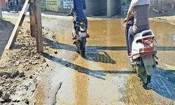 બીલીમોરા રેલવે અંડરપાસમાં ગંદા પાણીથી વાહનચાલકો ત્રસ્ત