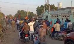 રામ મંદિર નિર્માણ માટે નાણાં એકત્ર કરવા આયોજિત રેલી પર પથ્થરમારો, વાહનોમાં આગ, કચ્છમાં સાંપ્રદાયિક એકતામાં વિસ્ફોટની ઘટના