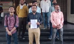 ગાંધીનગરમાં LRDના આંદોલનકારી વિદ્યાર્થીઓને જેલમાં ધકેલાતા સુરતમાં ક્લેક્ટરને રજૂઆત કરાઈ, ધરણાની ચીમકી