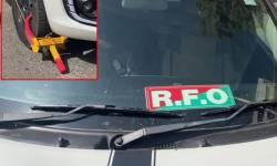 વલસાડમાં નો પાર્કિંગમાં પાર્ક ફોરેસ્ટ ઓફિસરની કાર પોલીસે લોક કરી, જૂની કલેકટર કચેરી નજીક કાર પાર્ક કરાતા કાર્યવાહી