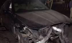 અકસ્માત:રાજકોટમાં BMW કારચાલકે નશાની હાલતમાં પૂરપાટ ઝડપે બાઇકને ઉલાળ્યું,કોર્પોરેશનના કર્મચારીનું ઘટનાસ્થળે જ મોત