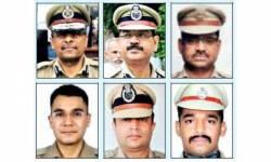 ગુજરાતના 6 આઇપીએસ અધિકારીઓની બદલી