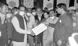 જામનગરના દરેડ ગામે સરકારી ખરાબાની જમીનના દબાણકારોએ રાજ્યમંત્રીની મદદ માંગી