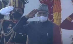 Republic Day Parade 2021:રાજપથ પર રાષ્ટ્રપતિ રામનાથ કોવિંદે ધ્વજ લહેરાવ્યો