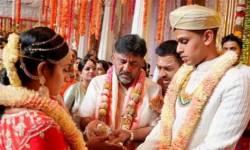વેલેન્ટાઇન ડે પર કોંગ્રેસ નેતાની પુત્રીનું BJP નેતાના પૌત્ર સાથે 'ગઠબંધન', બંધાયા લગ્ન બંધનમાં