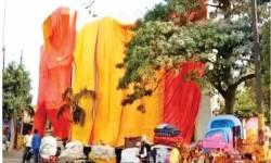 ઉત્તરપ્રદેશના શાહજહાંપુરમાં કોઈ જૂતા ન ફેકેં એટલે 40 મસ્જિદો ઢાંકી દેવાઈ