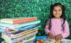 પાંચ વર્ષની ભારતીય બાળકીએ 105 મિનિટમાં 36 પુસ્તકો વાંચી સર્જયો નવો વિશ્વવિક્રમ