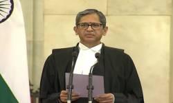 જસ્ટિસ NV Ramana બન્યા દેશના નવા CJI, રાષ્ટ્રપતિએ અપાવી શપથ
