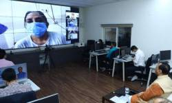 CM વિજય રૂપાણીએ વીડિયો કોન્ફરન્સ કરી રાજ્યના કોરોના દર્દીઓના હાલચાલ પૂછ્યા