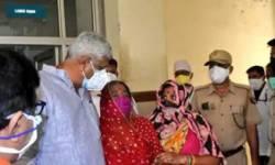 કોવિડ હોસ્પિટલમાં રોતી મહિલાને નેતાની સલાહ-બાલાજીને નારીયેળ ચડાવ, ઠીક થઈ જશે