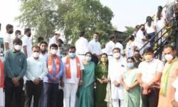 PM-CMની અપીલોને ભાજપના નેતાઓ ઘોળીને પી ગયા,પાટીલ ભાઉએ હવે આંબેડકર જયંતીની ઉજવણીના નામે ભીડ ભેગી કરી