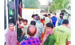 દિલ્હી-મહારાષ્ટ્ર-એમ.પી. તથા ગુજરાતમાંથી પરપ્રાંતીય કામદારોની હિજરત શરૂ