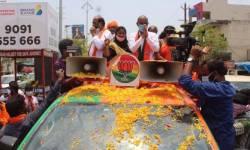 હાઈકોર્ટની ફટકાર છતા BJPની તેલંગણામાં સ્થાનિક ચૂંટણી માટે મોટી રેલી
