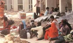 ક્યાં છે સેવાભાવી સંસ્થાઓ ?  કોરોનાકાળમાં ગુજરાતના મજૂરોની હાલત દયનીય … કોરોના નેગેટીવ ટેસ્ટ કરાવો પછી કામ !