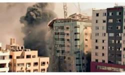 ઇઝરાયેલી એરફોર્સે ગાઝામાં ૧૨ માળની ઇમારત ઉડાવી, AP અને અલ-જઝીરાની ઓફિસો તબાહ
