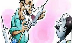 દેગામ ગામે ડીગ્રી વગર મેડિકલ પ્રેક્ટિસ કરતા બોગસ ડોક્ટરને નવસારી SOG પોલીસે ધરપકડ કરી