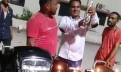 અમદાવાદમાં BJP કોર્પોરેટરના પતિએ કર્ફ્યૂમાં જાહેરમાં બિયરની બોટલ ખોલી બુટલેગરની બર્થડે પાર્ટી ઊજવી