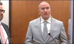 અશ્વેત જ્યોર્જ ફ્લોઇડને મળ્યો ન્યાય : પગથી ગળું દબાવી મોત નિપજાવનાર પોલીસ ઓફિસરને 22 વર્ષ અને 6 માસની જેલસજા થઇ