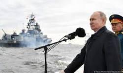 રશિયાના રાષ્ટ્રપતિ પુતિને અમેરિકા અને બ્રિટનને યુદ્વની ધમકી આપી