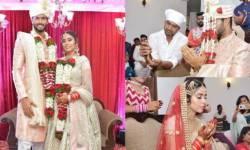 ક્રિકેટર શિવમ દુબે એ ગર્લફ્રેન્ડ અંજૂમ ખાન સાથે કર્યા લગ્ન : લગ્નમાં શિવમને દુવા માંગતા જોઇ ભડક્યા ફેન્સ, પૂછ્યું- 'નુસરત જહાં યાદ છે?'